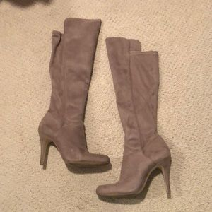 INC Knee Boots - Taupe - Size 7